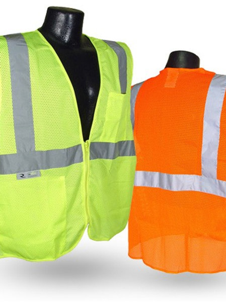 SV25 Economy Class 2 Self Extinguishing Safety Vest