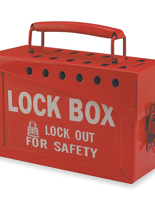 Lock Out Box-Red