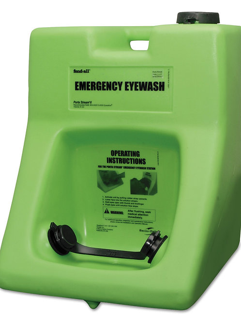 Porta Stream II Emergency Eyewash Station