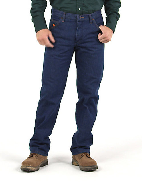 Men's Wrangler FR Regular Fit Lightweight Denim