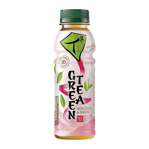 Tg Green Tea with Jujube and Ginseng 330ml bottle