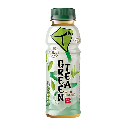 Tg Green Tea with Ginseng 330ml bottle