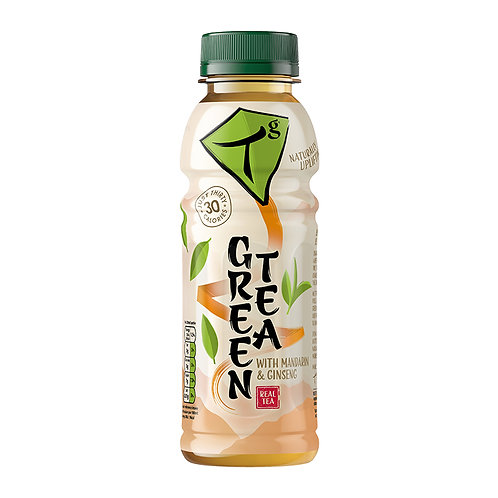 Tg Green Tea with Mandarin and Ginseng 330ml bottle