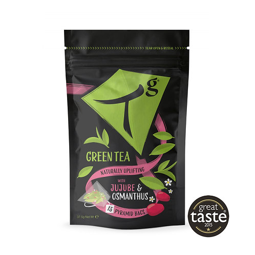 Tg Green Tea with Jujube & Osmanthus – 15 tea bags pouch