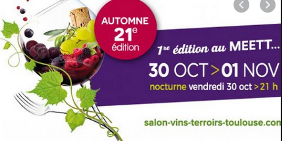 Salon des vins de Toulouse ANNULE