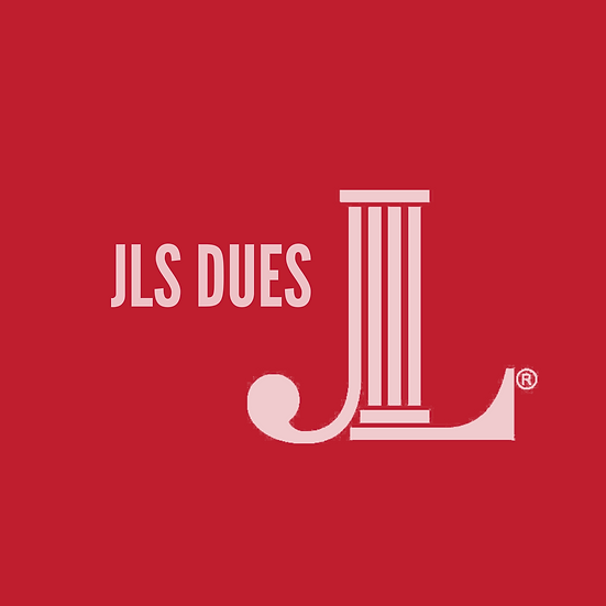 JLS Dues | Payment Plan: 1 of 3; 2021 - 2022