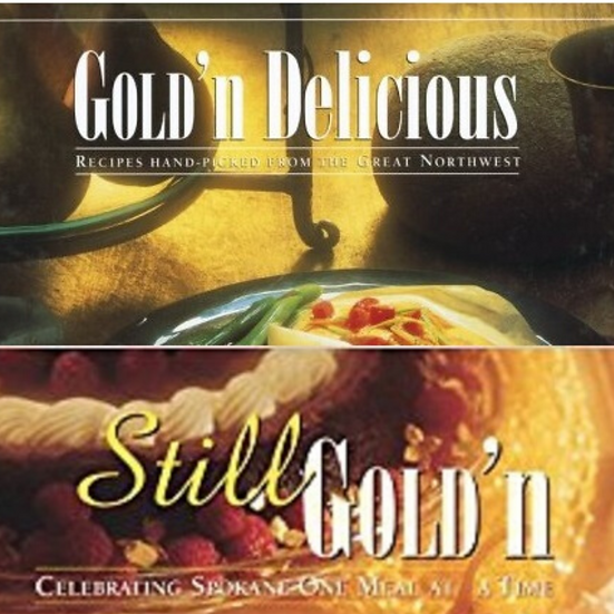 Gold'n Delicious & Still Gold'n Cookbooks