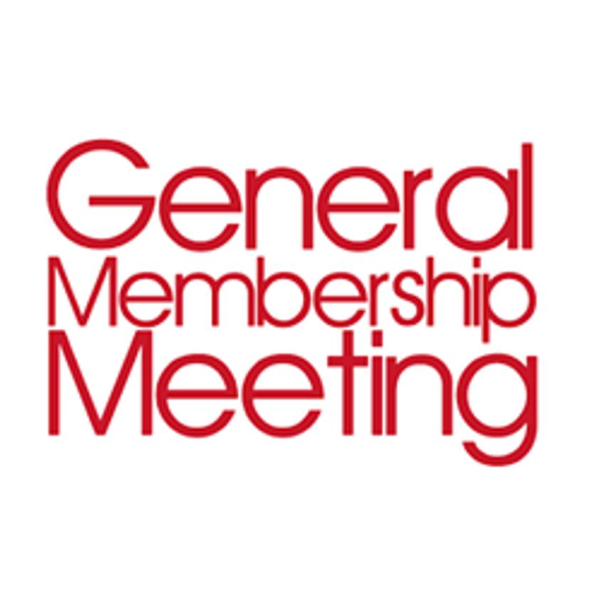 January General Membership Meeting