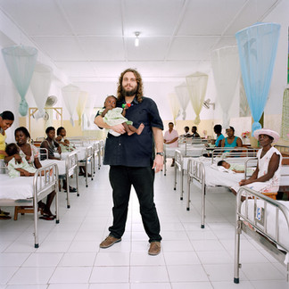 Rémi Orsier, a French employee of the Swiss NGO Terre des Hommes that manages a program to combat malnutrition in southern Haiti. The country has more NGOs per inhabitant than any other nation in the world. Les Cayes. Haiti