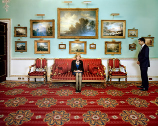 """Fiona Woolf, the Lord Mayor of The City of London, is photographed in her residence, the Mansion House. The City of London, also known as the Square Mile, is a small and peculiar local authority area lodged within the geographical center of the greater London metropolis. The City's resident population is about 8,000, but over 400,000 people work here every day. The London Stock Exchange, Lloyd's and the Bank of England are all based here, along with 500 banks from around the world. The Lord Mayor, not to be confused with the Mayor of London, runs the local authority in the Square Mile – known as The City of London Corporation – but is also, the Corporation's website declares, """"a trusted spokesperson for the business and financial community."""" Even more confusingly, the term """"City of London,"""" often just called """"The City,"""" is also commonly taken broadly to mean the UK financial services sector, which in geographical terms has spilled far beyond the borders of the Square Mile and makes the UK the world's largest exporter of financial services. City of London."""