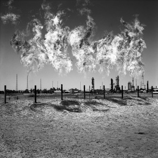 On the plain of Kirkuk, flames burning gas from the oilfield of Baba Gourgour, shoot up like weeds anywhere else. This is one of the most prolific oilfields in the world.