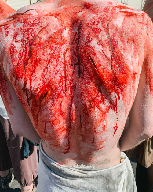 National Geographic's Story of God - Flagellation Scene