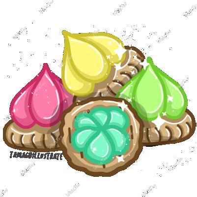 Iced Gem Cookies 1