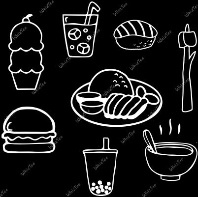 Comfort Food (Black)