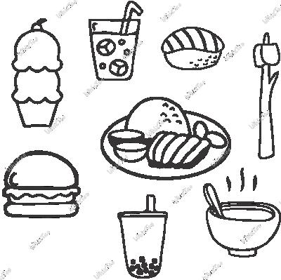 Comfort Food (White)