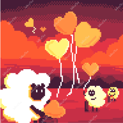 The Helping Sheep sending out love