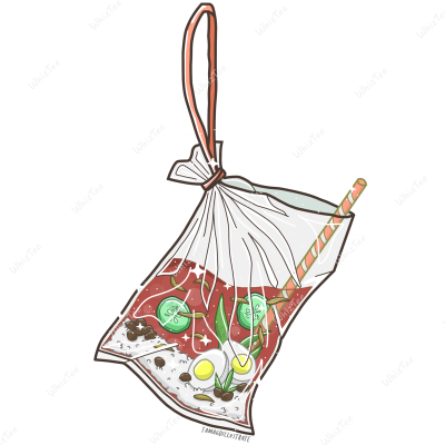 Nasi Lemak Ikat Tepi