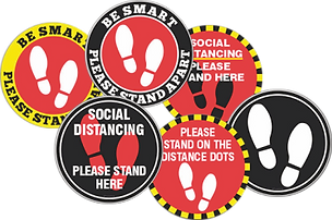 Coroavirus social distance labels.tif