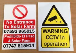 Correx Site Signs