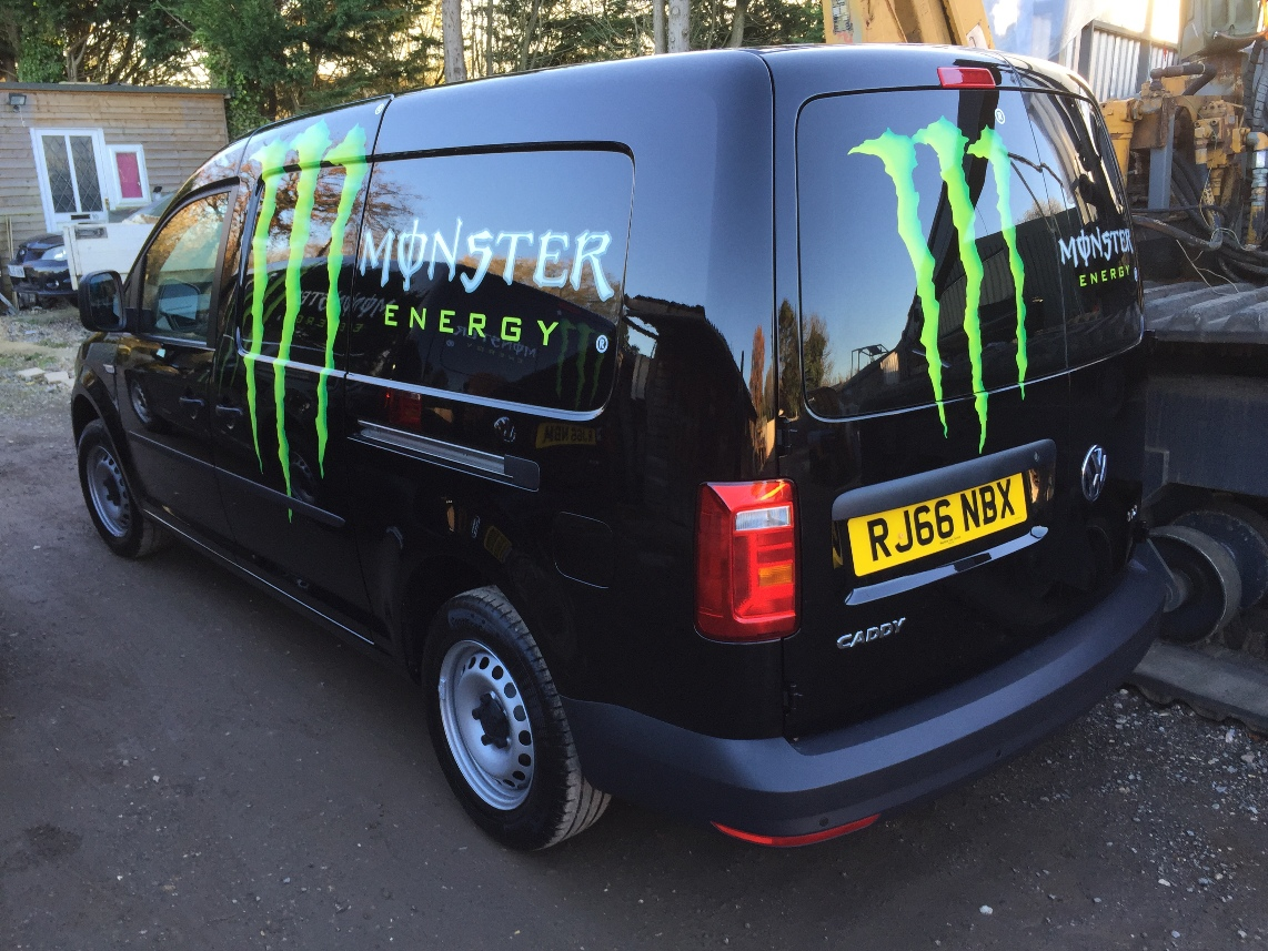 Monster Energy Caddy