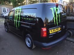 Monster Energy Caddy