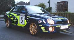 Subaru WRX 555 replica