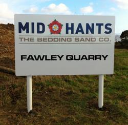 Heavy duty signage