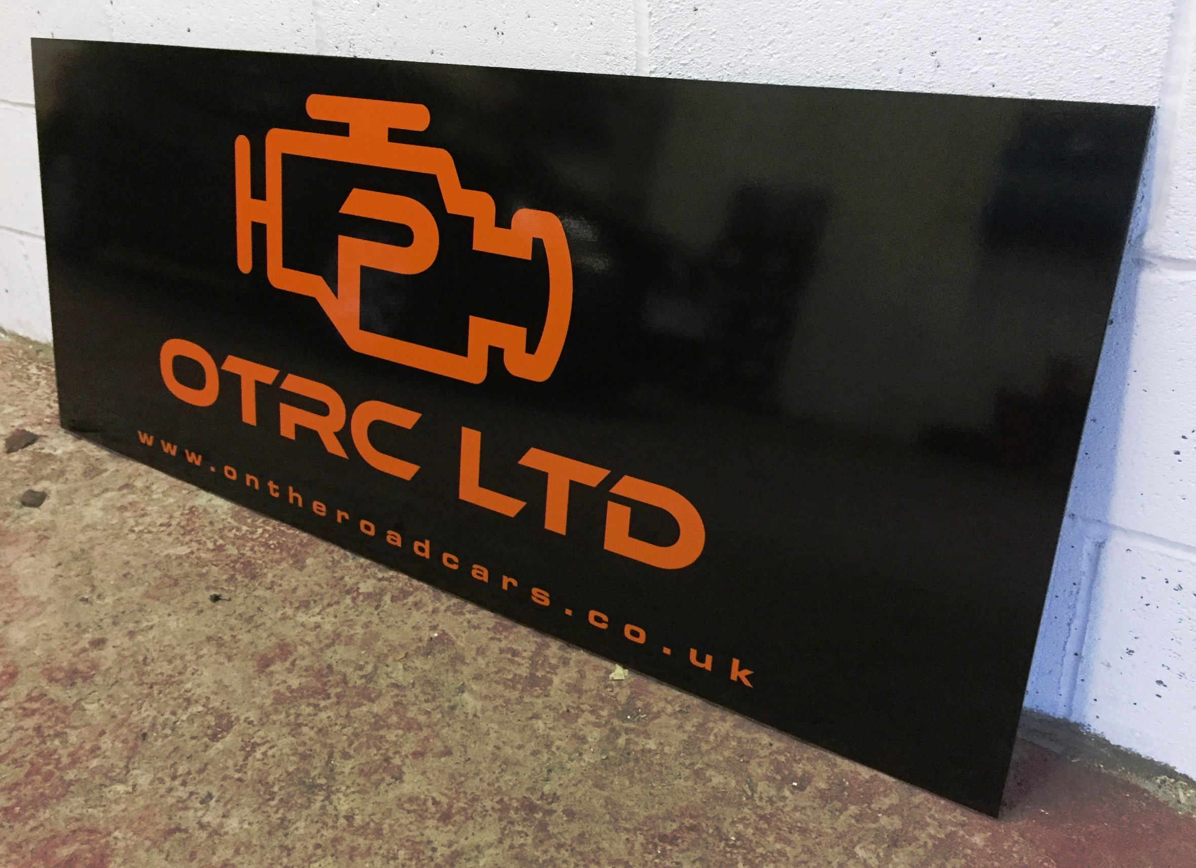 Vinyl Wrapped Composite Sign