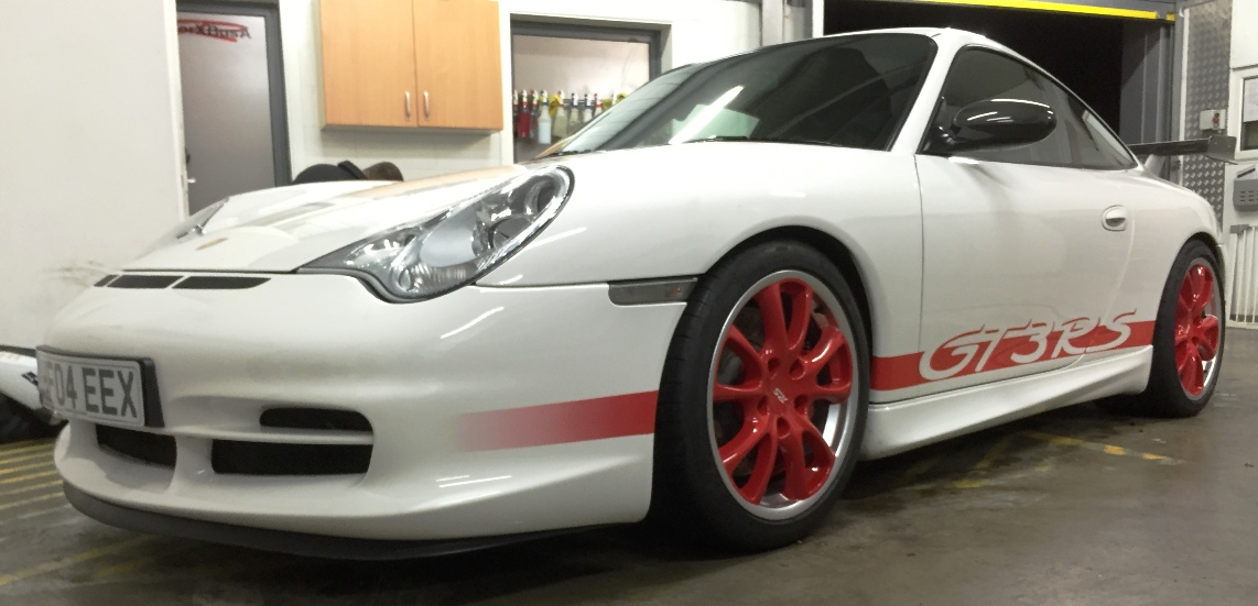 Porsche GT3RS re-finished graphics