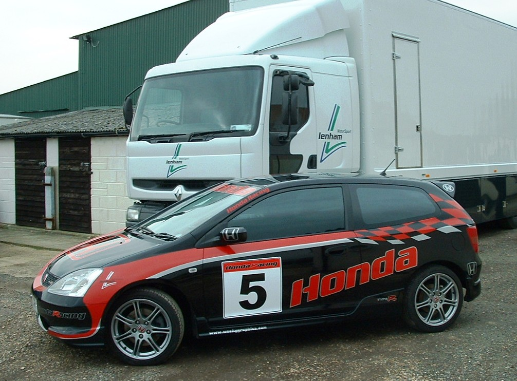 Honda Type R touring car