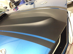 Mustang Bonnet wrap