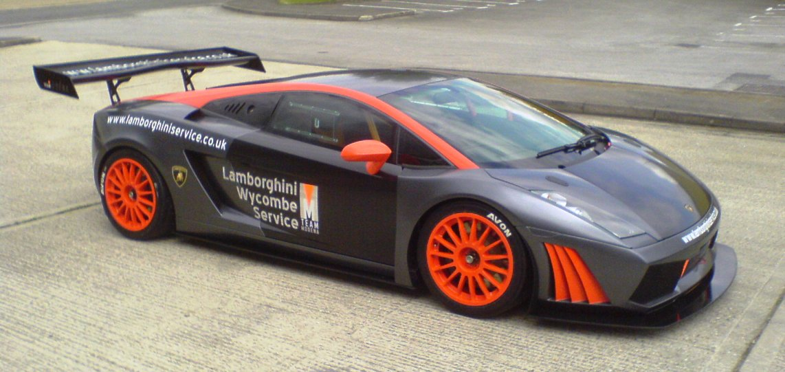 Gallardo Racecar graphics
