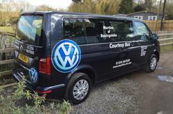 Martins VW Courtesy bus
