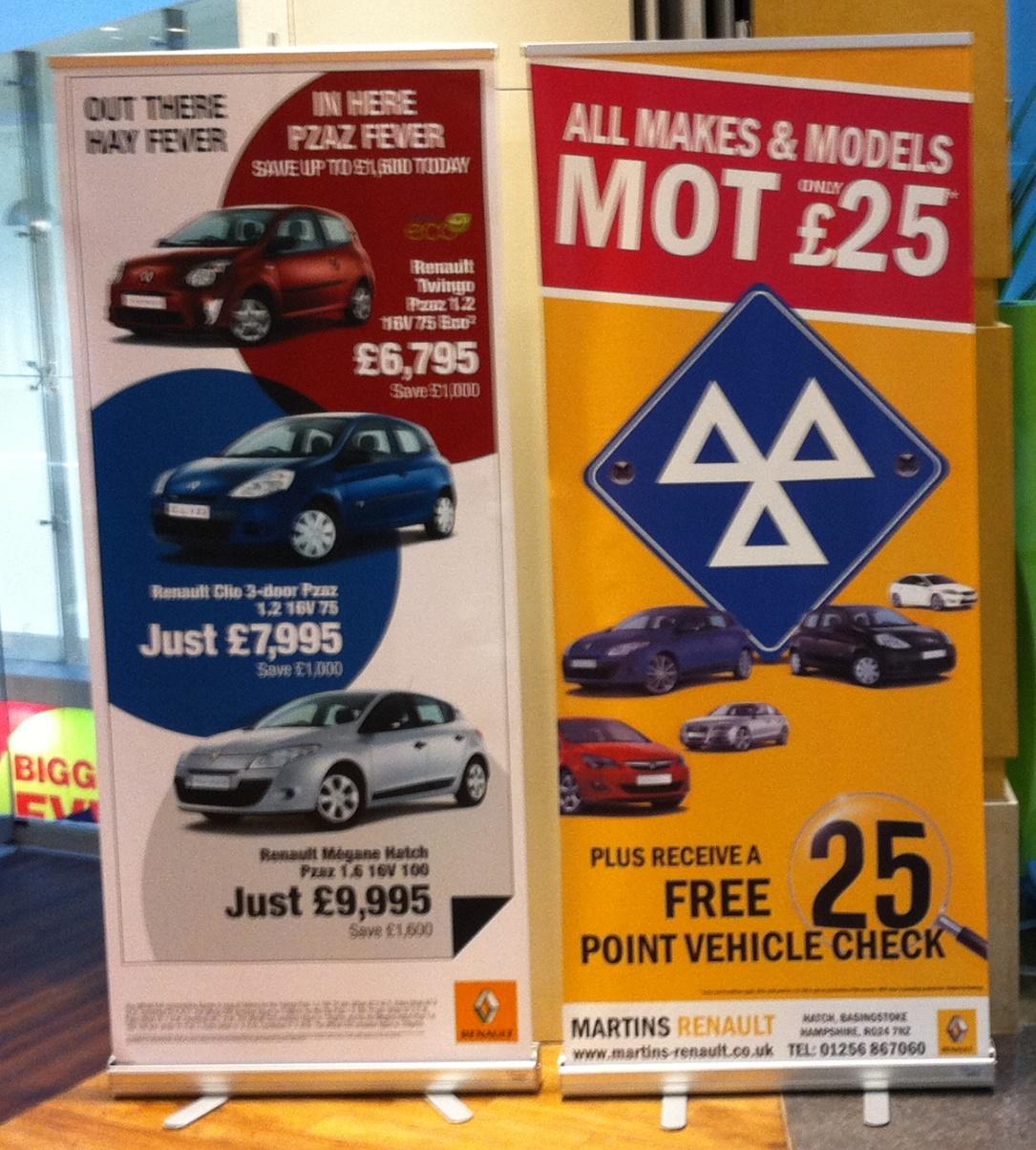 Martins Renault Dealer Promo
