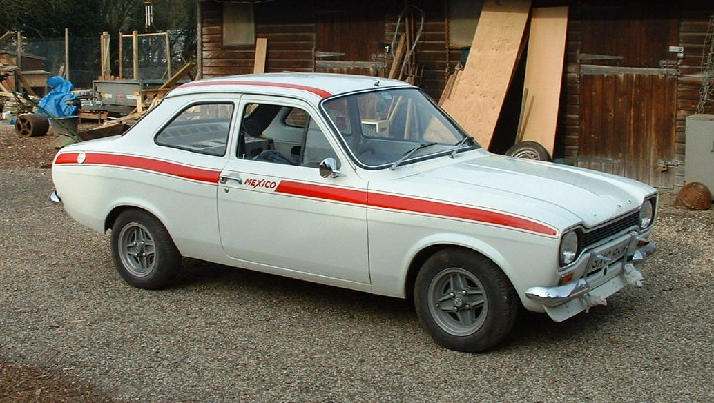 Replica Ford Escort Mexico