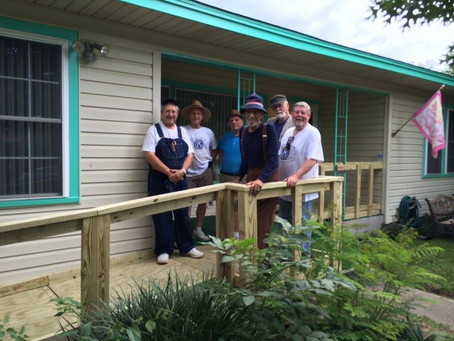 GRAK Builds Ramp for Kiwanis One Day