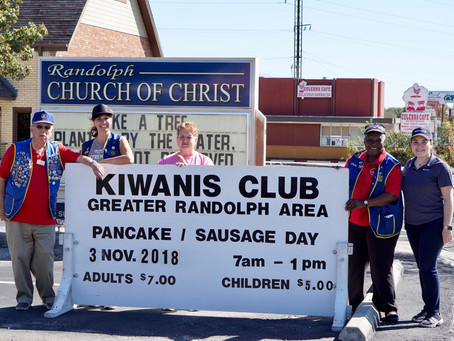 Thank You for Attending the 34th Annual Kiwanis Pancake Breakfast