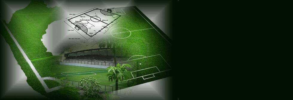 medidas de campo deportivo de futbol, medidas de canchas deportivas con grass sintético