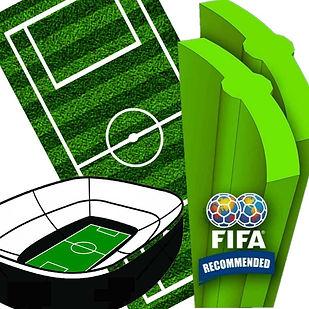 medidas delcampos (canchas) de futbol y futbolito