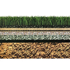 preapraeacion de terreno para instalar un sistema de grass sintético
