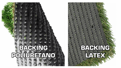 BACKING, bases del grass sintético