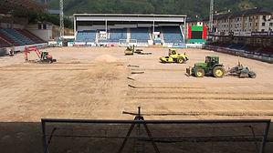 preparacion terreno instalar grass sintético