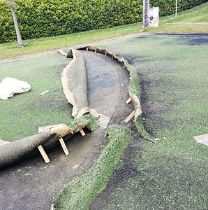 reparacion y mantenimiento de sistemas de grass sintético