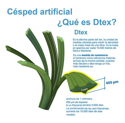 DTEX DE GRASS SINNTERTICO