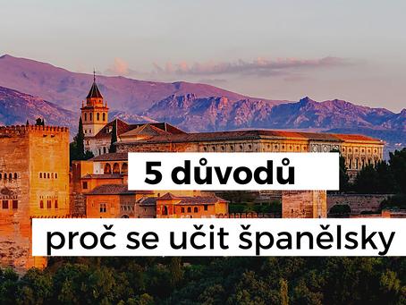 5 důvodů, proč se učit španělsky