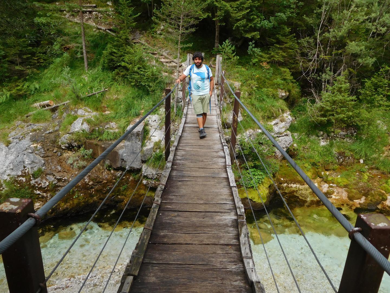 Slovinsko - v Česku jsem si oblíbil turistiku a pobyt na čerstvém vzduchu. Příjemný rozdíl oproti Mexico City.