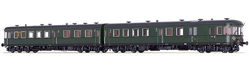 Brawa Spur H0 Verbrennungstriebwagen Stettin VT 137 der DRG, Epoche II