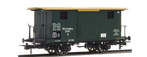 Brawa Spur H0 Güterwagen zum Transport von Feuergut der K.W.St.E.