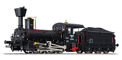 Liliput Spur H0 Dampflokomotive BR 53.7116 der DR