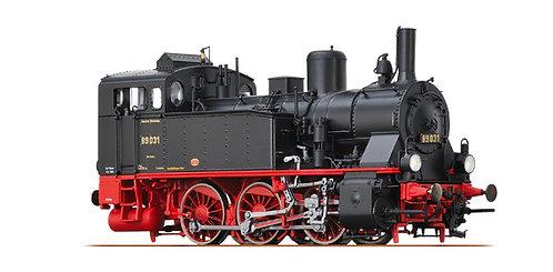 Brawa Spur H0 Dampflokomotive Baureihe 89.0 der DRG, Epoche II